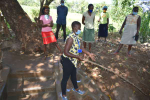 The Water Project: Kimang'eti Community, Kimang'eti Spring -  Training On Site Management