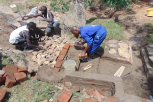 The Water Project: Mahira Community, Mukalama Spring -  Stair Construction