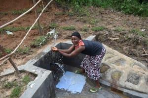 The Water Project: Mukhungula Community, Mulongo Spring -  Mama Baraka