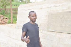 The Water Project: King'ethesyoni Community -  Gedion Nguli
