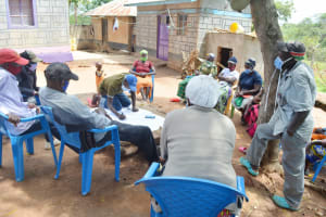 The Water Project: King'ethesyoni Community -  Training Discussion