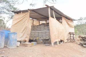 The Water Project: King'ethesyoni Community -  Cement Bags