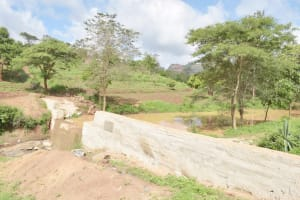 The Water Project: King'ethesyoni Community -  Complete Dam