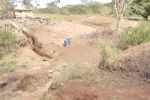 The Water Project: King'ethesyoni Community -  Dam Site