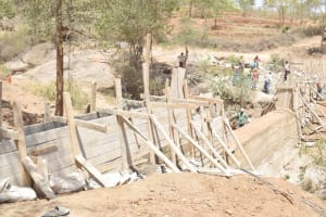 The Water Project: King'ethesyoni Community -  Scaffolding