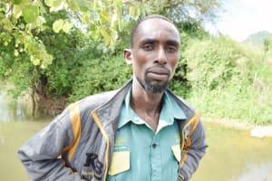 The Water Project: Yumbani Community A -  Sylvester Nzangu