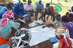The Water Project: Yumbani Community A -  Training Posters
