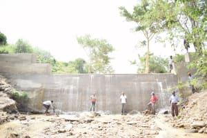 The Water Project: Yumbani Community -  Complete Sand Dam