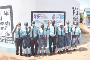 The Water Project: Mutwaathi Secondary School -  Cheers