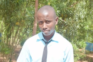 The Water Project: Mutwaathi Secondary School -  Sammy M