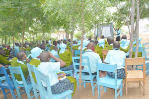 The Water Project: Mutwaathi Secondary School -  Students At The Training