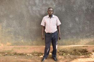 The Water Project: Ibokolo Primary School -  Headteacher Austine Oduor