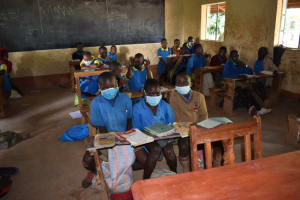 The Water Project: Ibokolo Primary School -  Students In Class