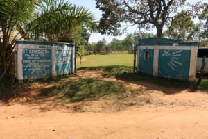 The Water Project: St. Benedict Emutetemo Primary School -  Gate