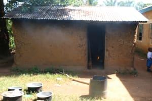 The Water Project: St. Benedict Emutetemo Primary School -  Kitchen