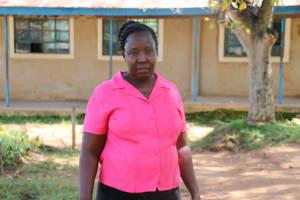 The Water Project: St. Benedict Emutetemo Primary School -  Teacher Julie Okello