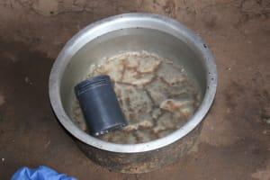The Water Project: St. Benedict Emutetemo Primary School -  Water Storage Pot