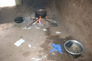 The Water Project: St. Benedict Emutetemo Primary School -  Cooking Food In The Kitchen