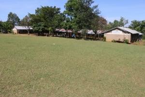 The Water Project: St. Benedict Emutetemo Primary School -  School Grounds