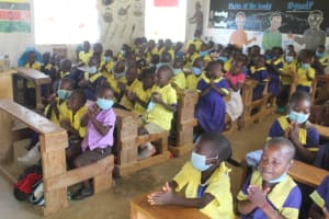 The Water Project: Emachina Primary School -  Students In Class