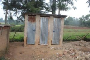 The Water Project: Mungabira Primary School -  Boys Latrines