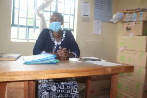 The Water Project: Mungabira Primary School -  Madam Judith Chebechuma