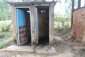 The Water Project: Petros Primary School -  Boys Latrines