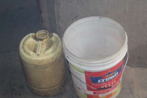 The Water Project: Petros Primary School -  Water Storage Containers