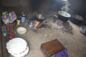 The Water Project: Petros Primary School -  Food Cooking Inside The Kitchen