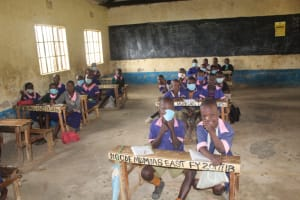 The Water Project: Petros Primary School -  Pupils In Class