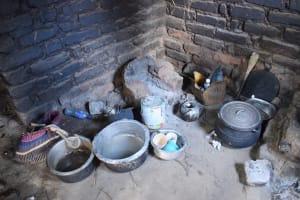 The Water Project: Nduumoni Community B -  Cooking Area