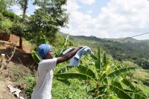 The Water Project: Nduumoni Community B -  Hanging Clothes