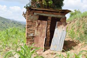 The Water Project: Nduumoni Community B -  Latrine