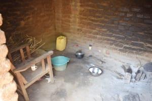 The Water Project: Nduumoni Community C -  Inside Kitchen