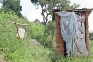The Water Project: Nduumoni Community C -  Latrine And Handwashing Station