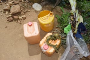The Water Project: Nduumoni Community C -  Water Storage Containers