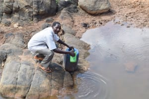 The Water Project: Yathui Community A -  Fetching Water