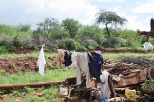 The Water Project: Yathui Community -  Clothesline