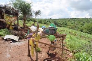 The Water Project: Yathui Community -  Dishrack