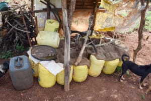 The Water Project: Yathui Community -  Water Storage Containers