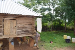 The Water Project: Yathui Community A -  Granary