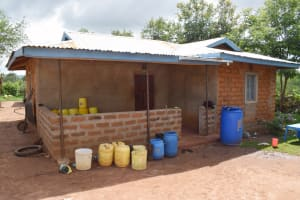 The Water Project: Yathui Community A -  Homestead