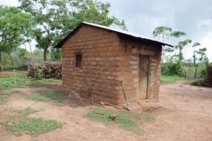The Water Project: Yathui Community A -  Kitchen