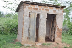 The Water Project: Yathui Community A -  Latrine