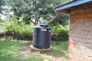 The Water Project: Yathui Community A -  Small Rain Tank