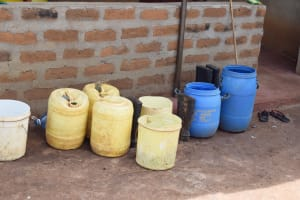 The Water Project: Yathui Community A -  Water Storage Containers