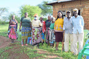 The Water Project: Kitile B Village Well -  Shg Members