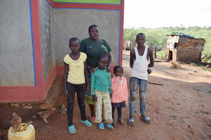 The Water Project: Kitile B Village Sand Dam -  Family