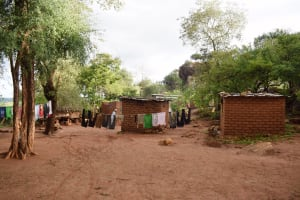 The Water Project: Kitile B Village Well -  Compound