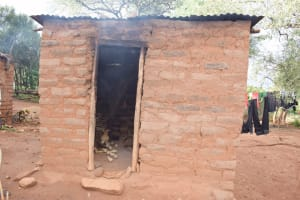 The Water Project: Kitile B Village Well -  Kitchen